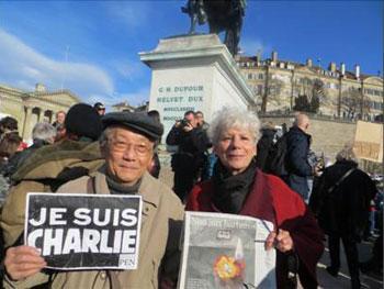 7 janvier 2016 – CHARLIE HEBDO ASSASSINÉS